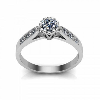 Shimmers of Hope Engagement Ring
