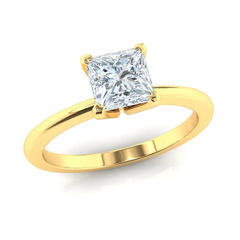 Blaire Yellow Gold Engagement Ring