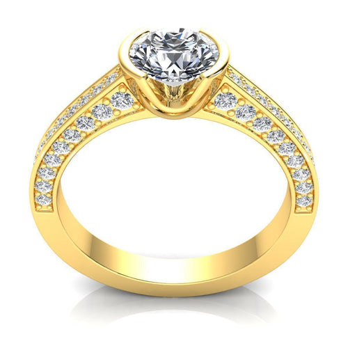 Isla Yellow Gold Engagement Ring