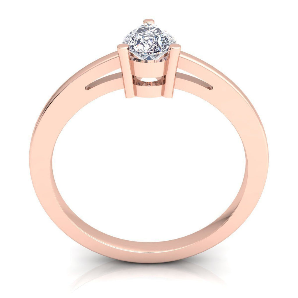 Mary Rose Gold Engagement Ring
