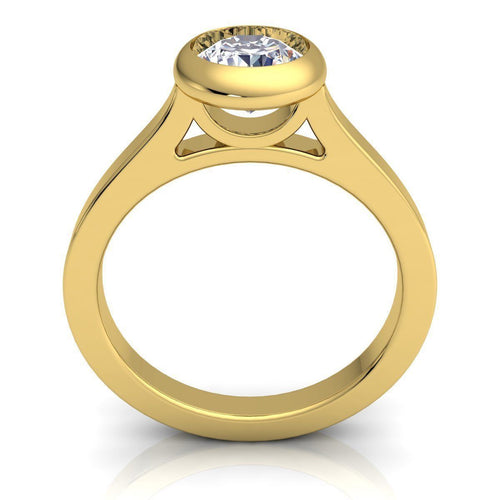 Samantha Yellow Gold Engagement Ring