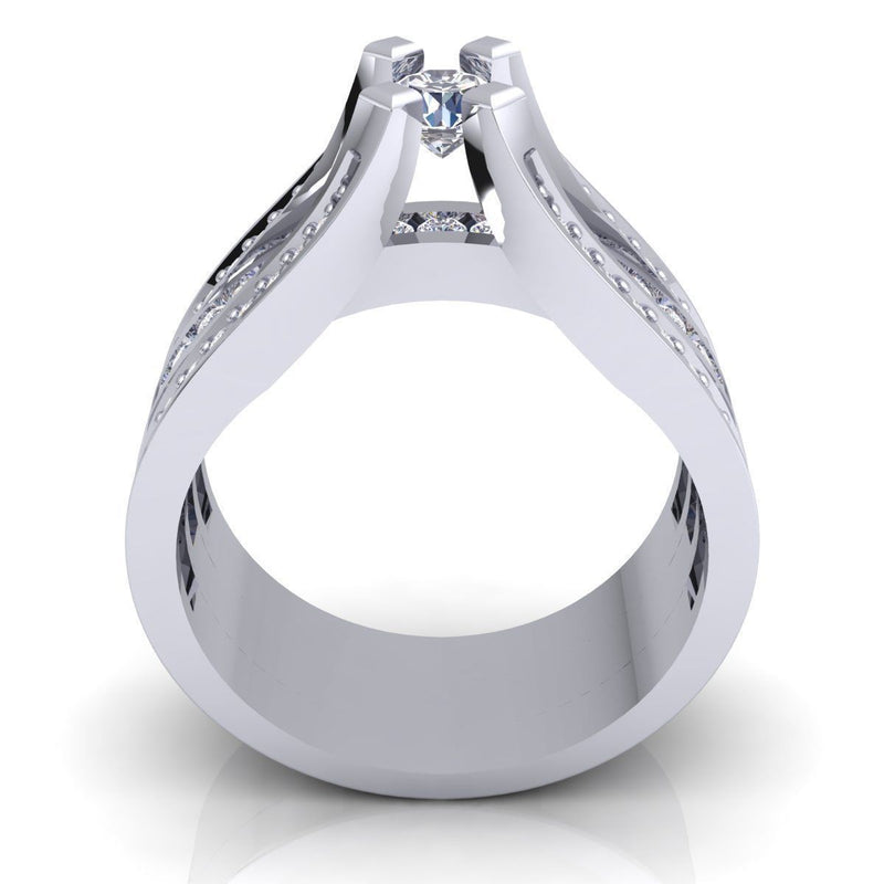 Caroline White Gold Engagement Ring
