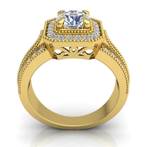 Jayla Yellow Gold Engagement Ring