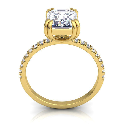Hanna Yellow Gold Engagement Ring