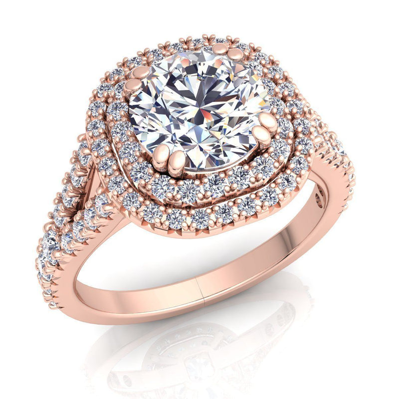 Gracie Rose Gold Engagement Ring