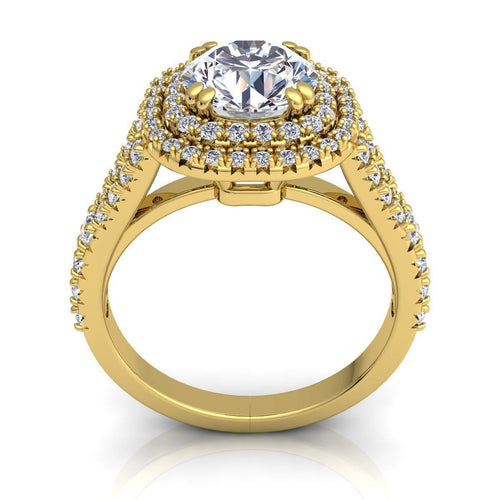 Elsie Yellow Gold Engagement Ring