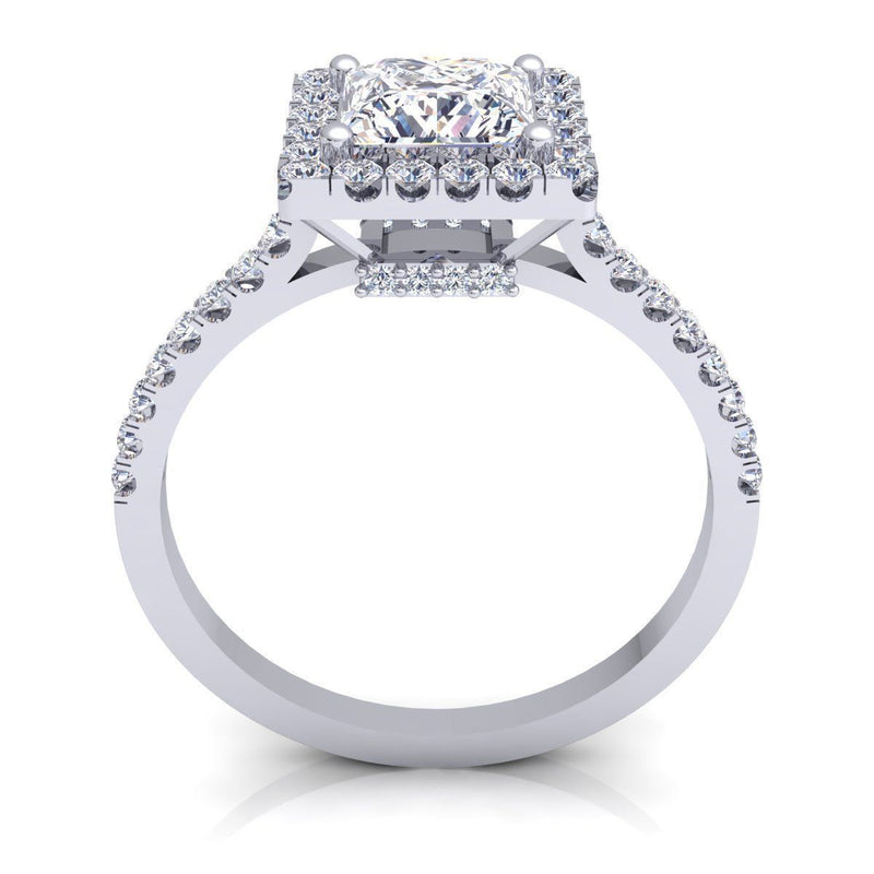 Elena White Gold Engagement Ring