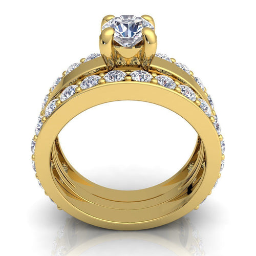 Zoey Yellow Gold Engagement Ring