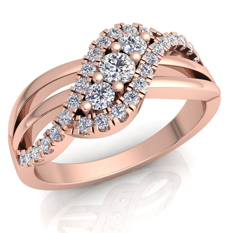 Ella Rose Gold Engagement Ring