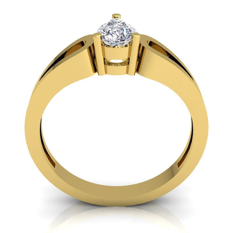 Irene Yellow Gold Engagement Ring