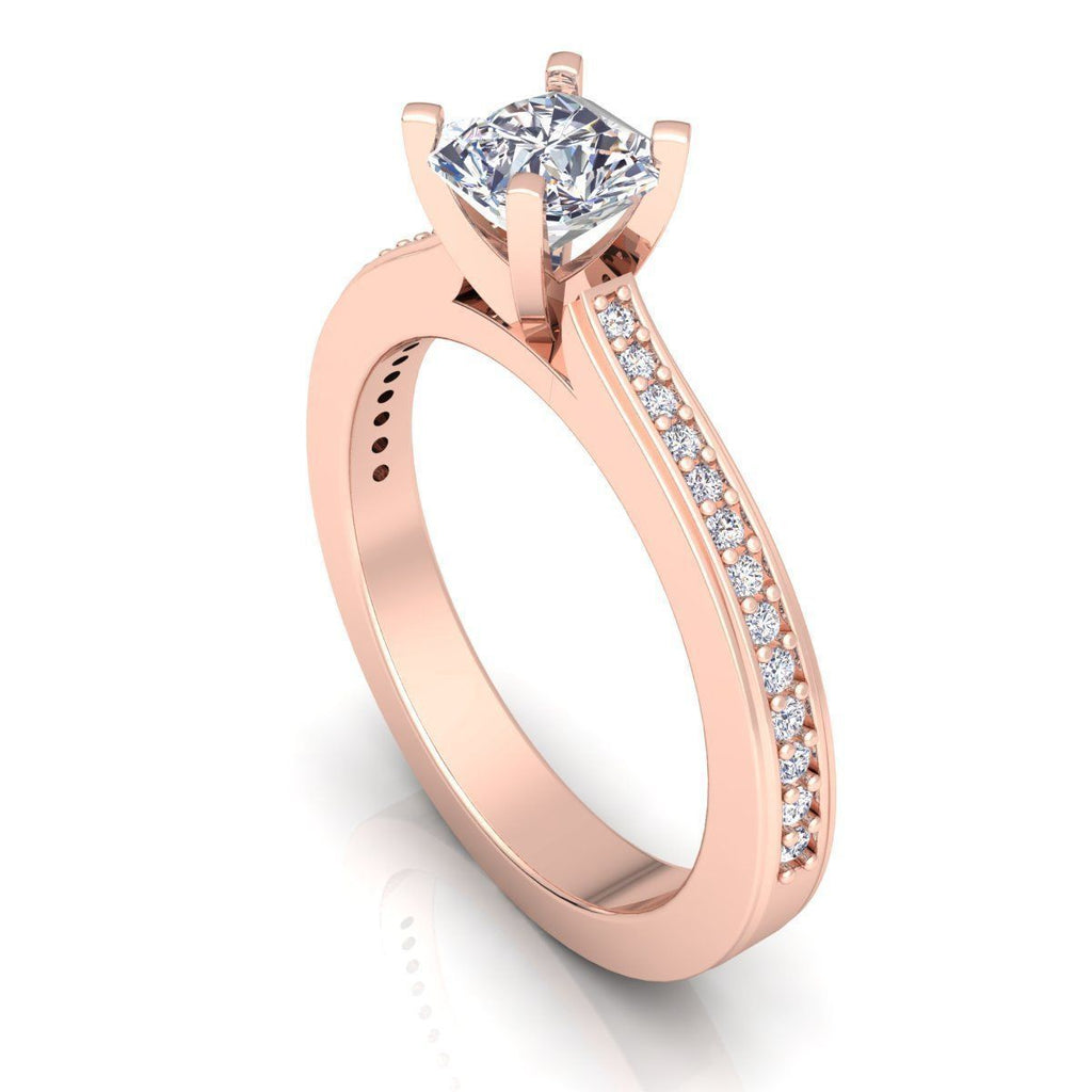Ivy Rose Gold Engagement Ring