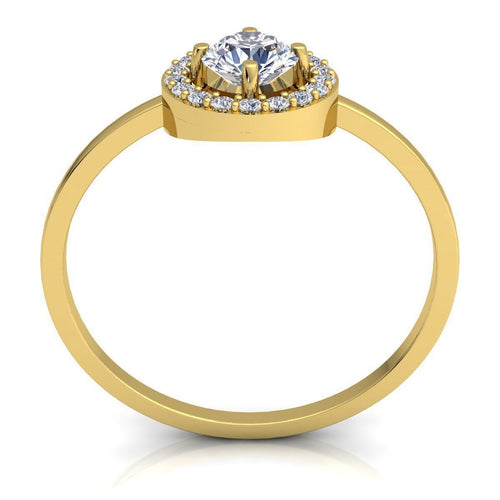 Chloe Yellow Gold Engagement Ring