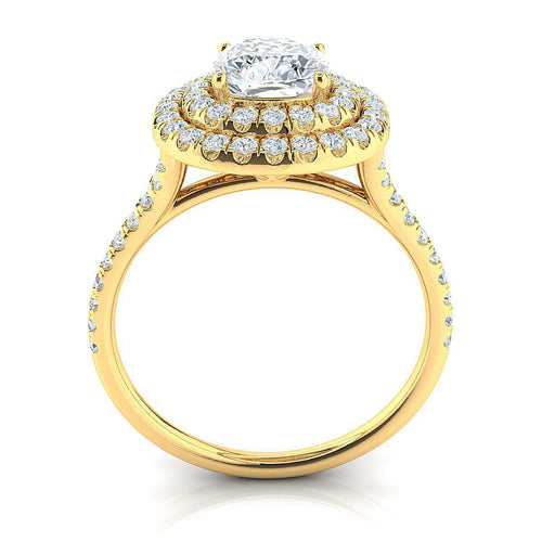 Ava Yellow Gold Engagement Ring