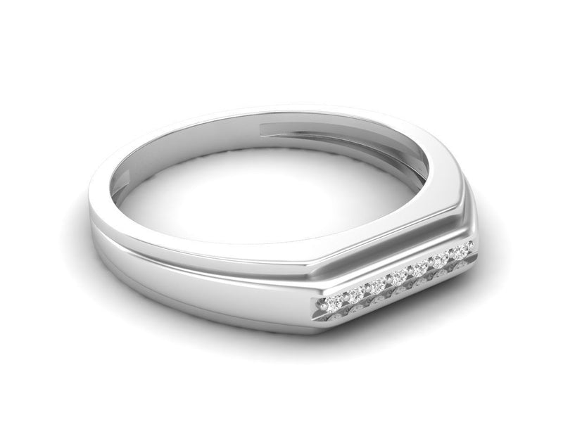 White Gold Band 12