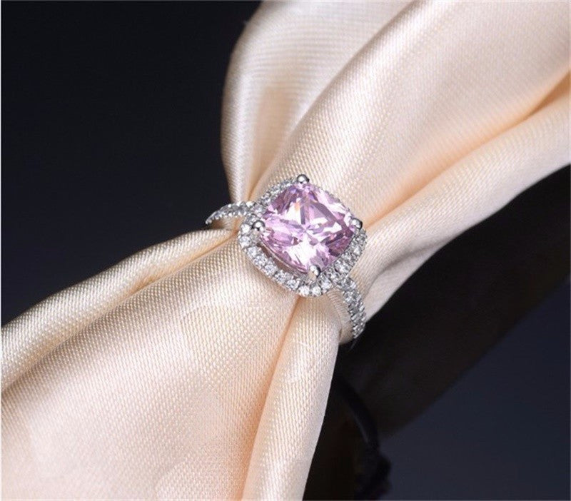 Lilac Love Engagement Ring