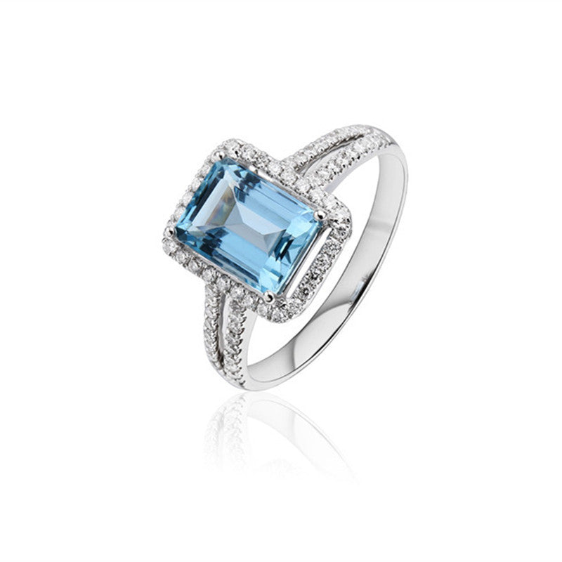 The Ocean Perfect Engagement Ring