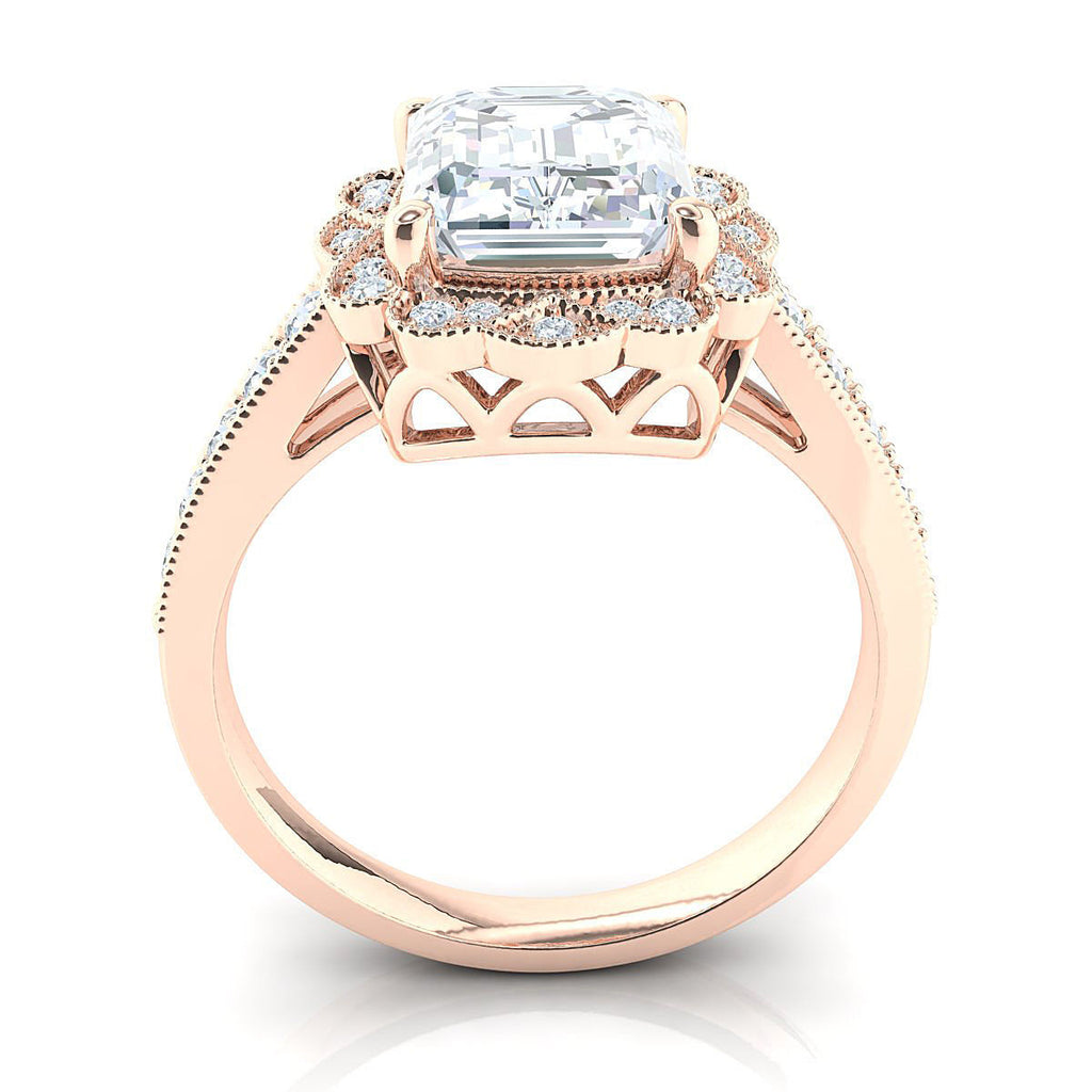 Hazel Rose Gold Engagement Ring