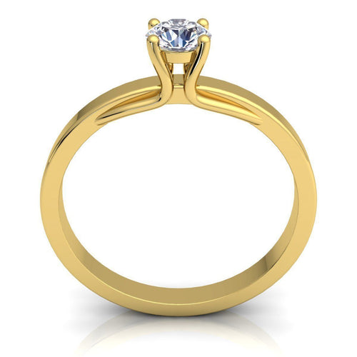 Charlotte Yellow Gold Engagement Ring
