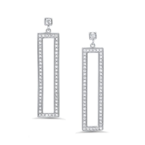 Up-Down Cubic Earrings