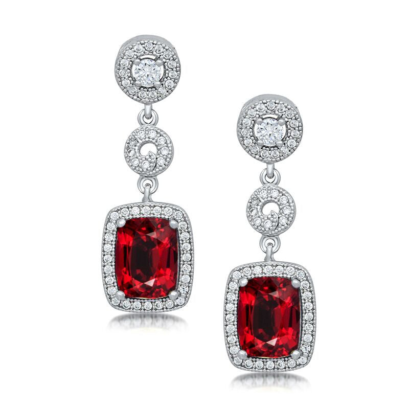 Fiery Sparkle Earrings
