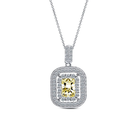 A Double Take Cubic Zirconia Pendant