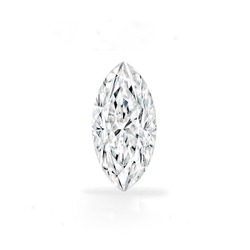 Forever Brilliant® Marquise Shaped Moissanite