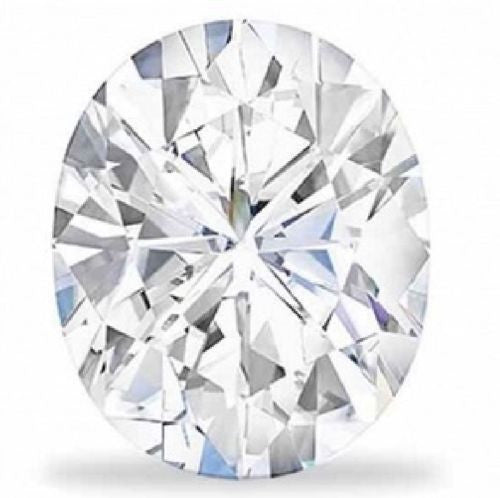 Forever Brilliant® Oval Shaped Moissanite