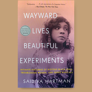 Wayward Lives, Beautiful Experiments, Saidiya Hartman