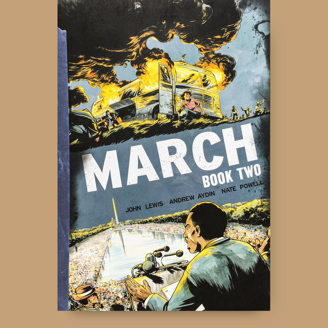 March: Book Two, John Lewis, Andrew Aydin, Nate Powell