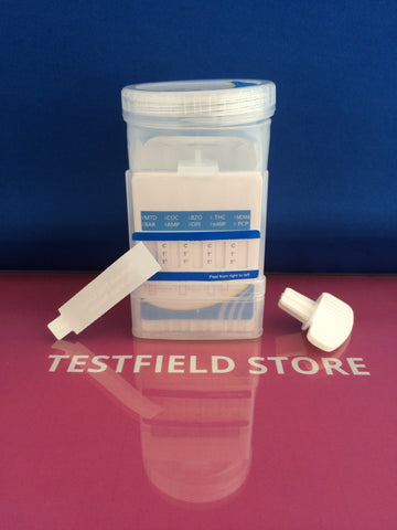 (150x) 10 Panel Integrated E-Z Split II Key Drug Test Cup