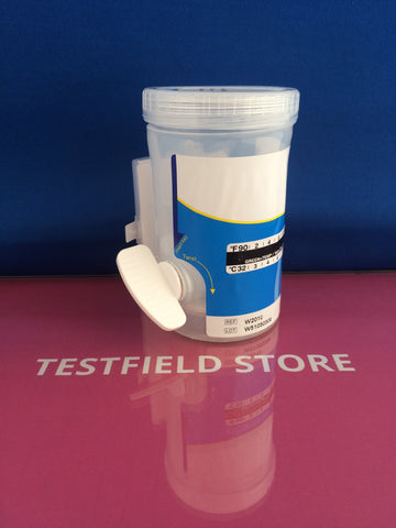 (1x) 10 Panel Integrated E-Z Split II Key Drug Test Cup