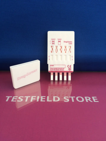 (25x) 10 PANEL URINE DRUG TEST CARD