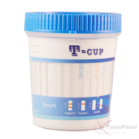 (1x) 10 Panel Urine Drug Test Integrated Cup (T-Cup)