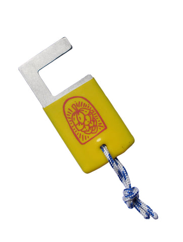 OHCBYH - Bottle Opener #3 Rubber Yellow