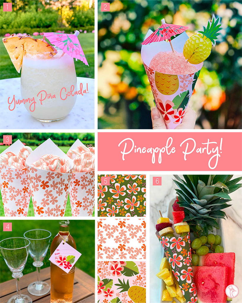 WhimWham, LLC Pineapple Party Ideas