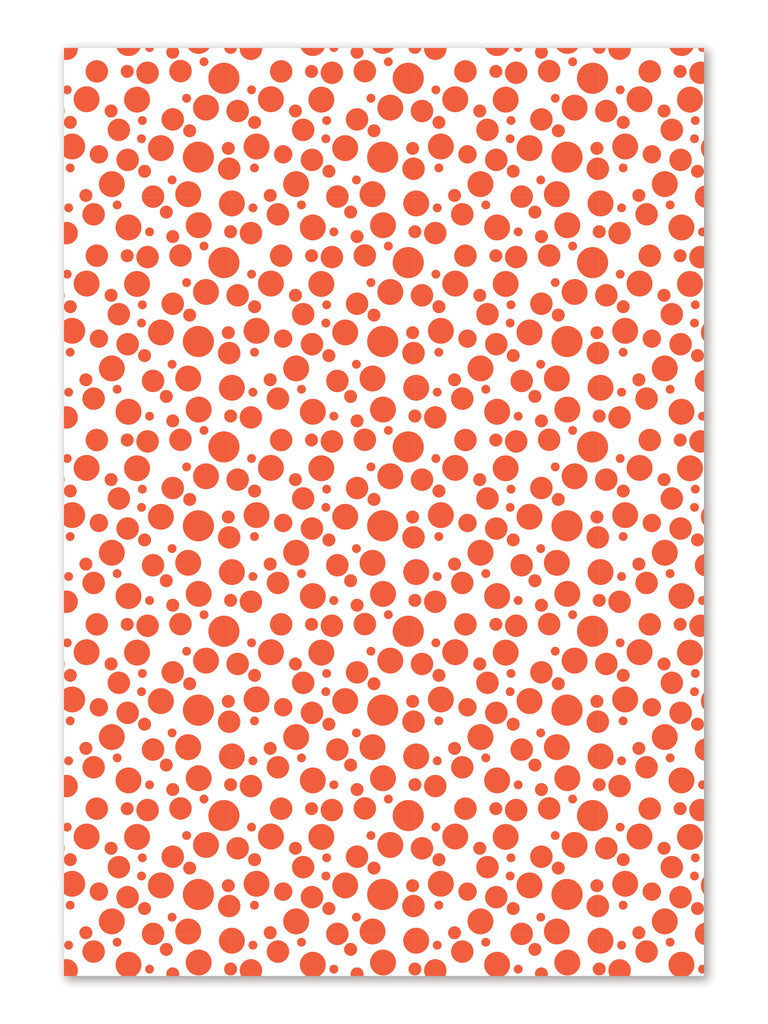 Dot Gift Wrap Sheets by whimwham-studio.com