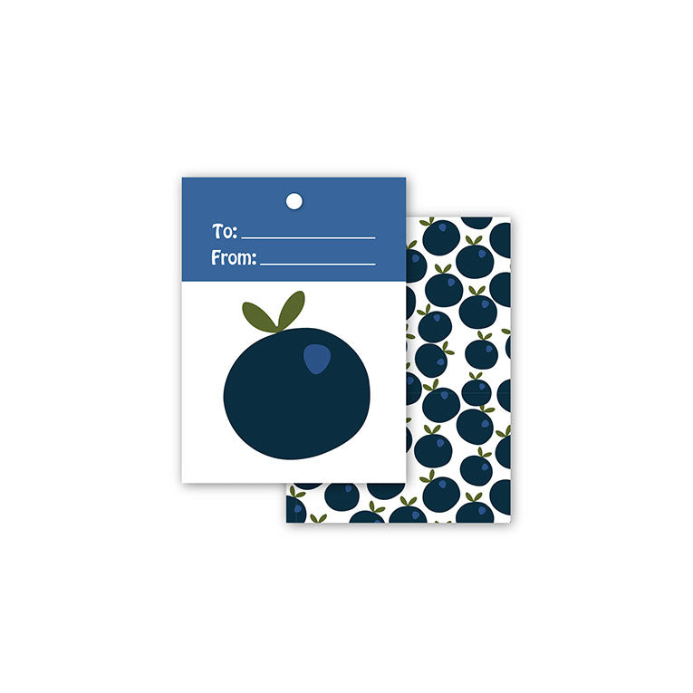 WhimWham,LLC Blueberry Gift Tags