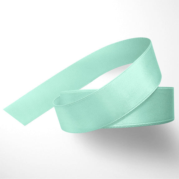 WhimWham,LLC Mint Satin Ribbon