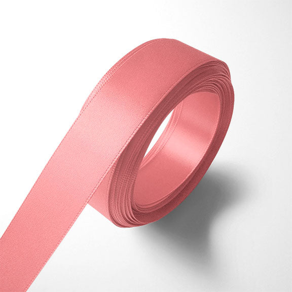 WhimWham,LLC Coral Satin Ribbon