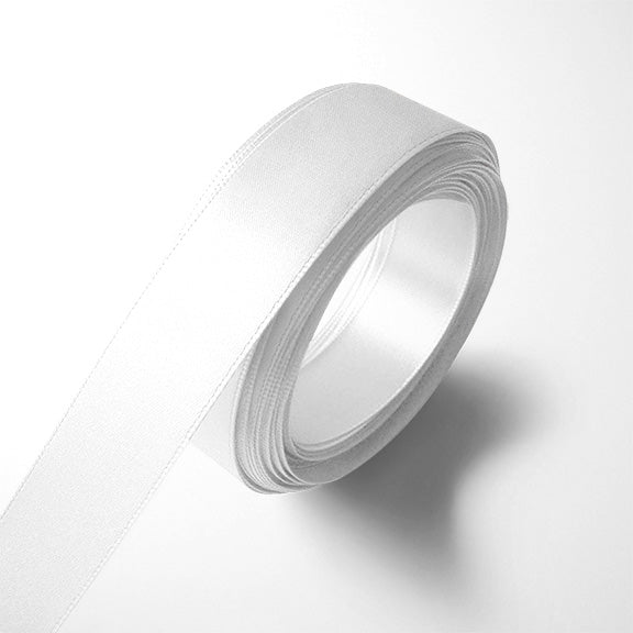 WhimWham,LLC White Satin Ribbon