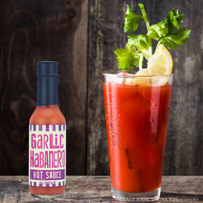 Garlic Habanero Bloody Mary