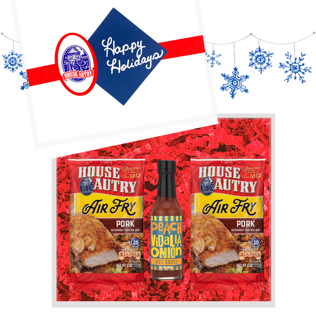 Air Fry Sweet Heat Pork Gift Set