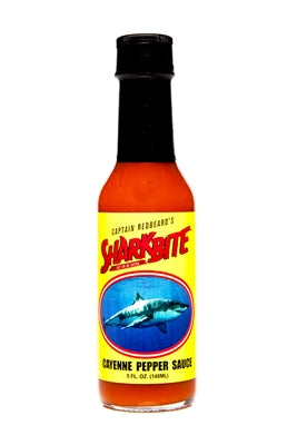 Sharkbite Garlic Cayenne Pepper Sauce