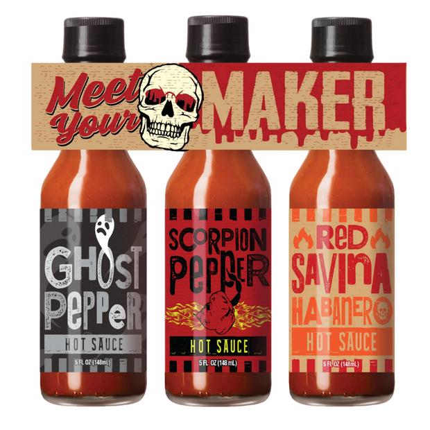 Meet Your Maker Hot Sauce Gift Set