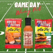 Game Day Air Fry Buffalo Wing  Chicken Gift Set