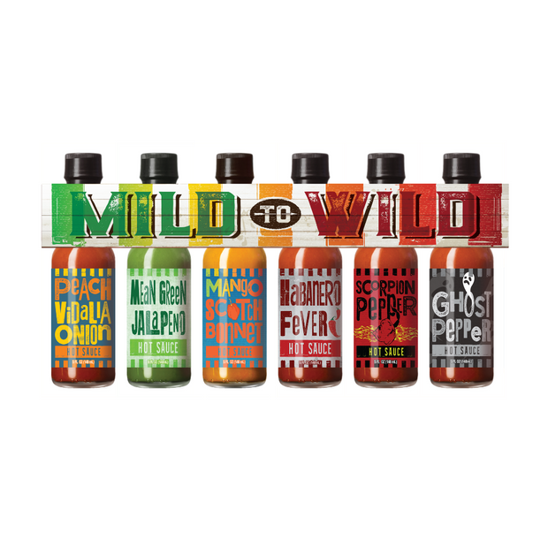 Mild To Wild Hot Sauce Gift Set