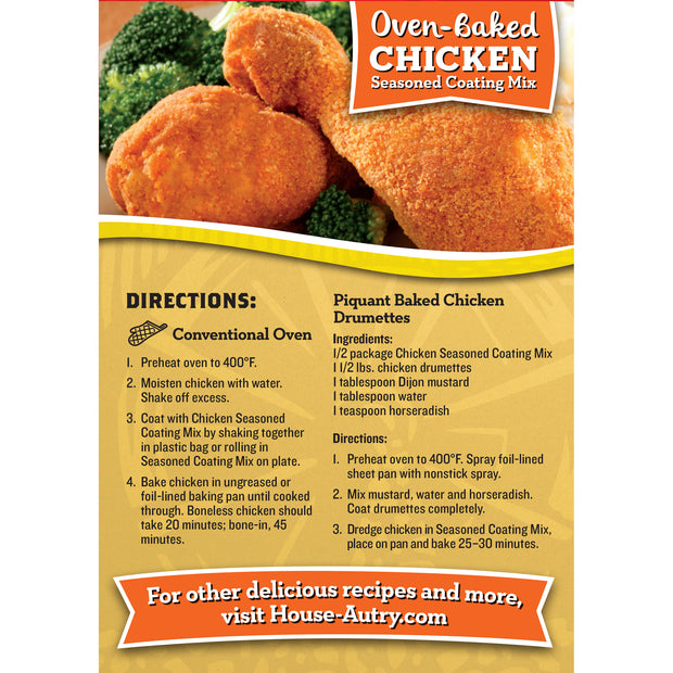 Oven-Baked Chicken Breading Mix