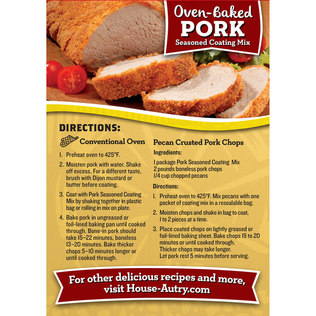 Oven-Baked Pork Breading Mix