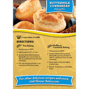 Buttermilk Cornbread Mix
