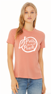Pretty as Peach Women's T-Shirt